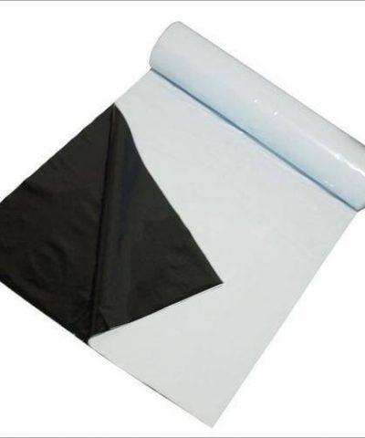 White / Black Mulching Film 25 Micron 400 Meter Roll