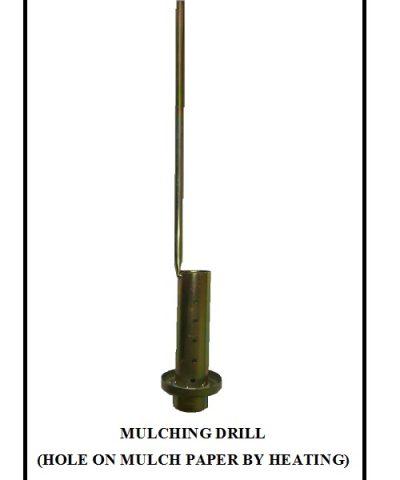 Mulching Hole Making Machine Manually Operated Mulching Paper Hole Easy to Operate